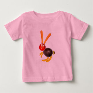 Vegetarian rabbit, to ideais add your own text. tshirt