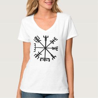 Vegvísir (compasso de Viking) Camiseta