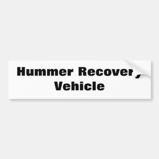 Veículo de recuperação de Hummer Adesivo Para Carro
