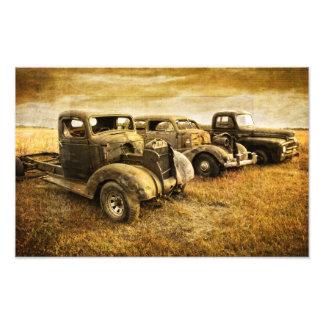 Veículos do vintage foto