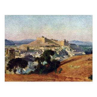Veja de Villeneuve-Les-Avignon o Santo-Um do forte Cartão Postal