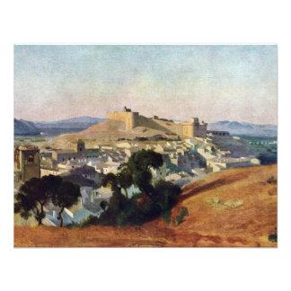Veja de Villeneuve-Les-Avignon o Santo-Um do forte Convites Personalizados