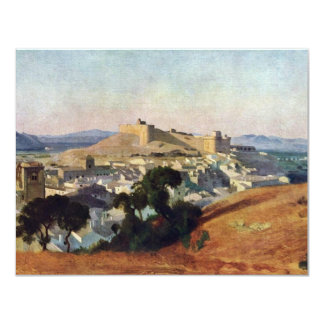 Veja de Villeneuve-Les-Avignon o Santo-Um do forte Convite 10.79 X 13.97cm
