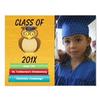 Veja o anúncio graduado Whooo da graduação Convite 10.79 X 13.97cm