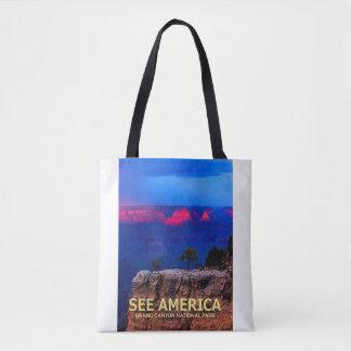 """""""Veja o bolsa do parque nacional do Grand Canyon"""