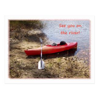 Veja-o no cartão do rio
