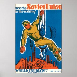 Veja o poster das viagens vintage de União Pôster