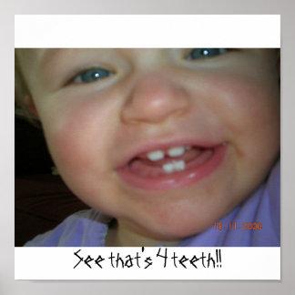 Veja que é 4 dentes!! poster