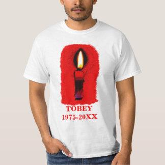 Vela da relembrança a personalizar t-shirts