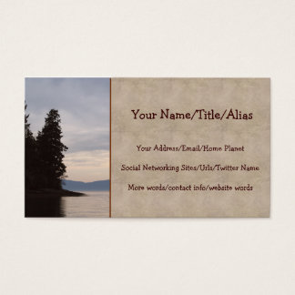 Vela de Chuckanut Cartão De Visitas