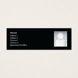 Velas - magros cartão de visitas mini