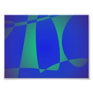 Veleiro azul arte de fotos
