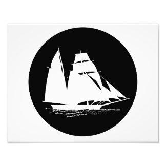 veleiro impressão de foto