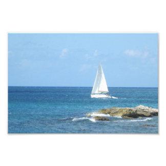 Veleiro no oceano impressão de foto