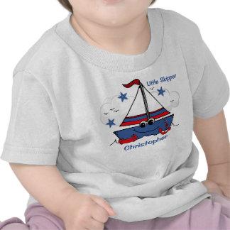 Veleiro pequeno bonito tshirts