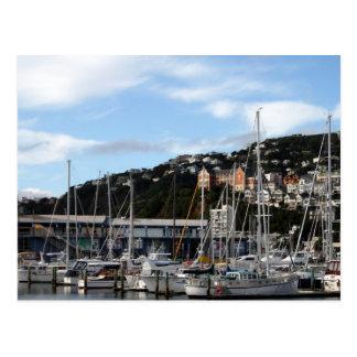 Veleiros no cartão de Wellington