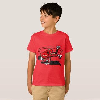 Velha escola Hip Hop Breakdancer Camiseta