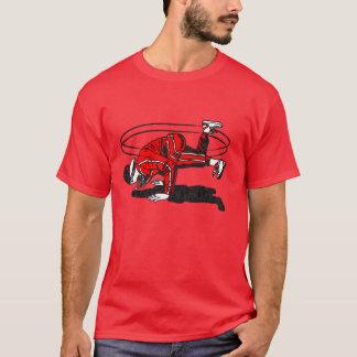 velha escola Hip Hop Breakdancer dos anos 80 Camiseta
