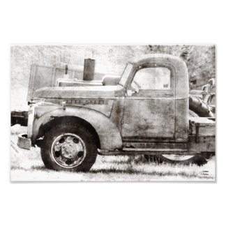 Velhos oxidados pegaram o impressão fotográfico do foto arte
