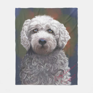Velo Bischon geral/portra descuidado do cão Cobertor De Lã