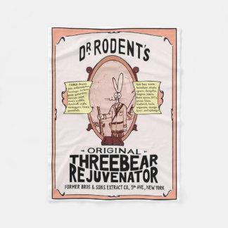 Velo de Original Threebear Rejuvenator do Dr. Cobertor De Lã