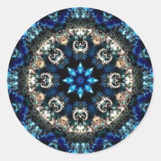 Veludo azul adesivo