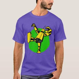 Vem aqui a camisa de pensamento do robô das