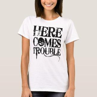 Vem aqui a camisa do problema