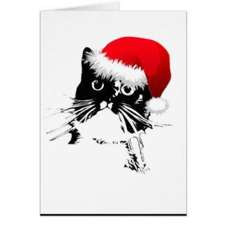 """""""Vem aqui cartão de Natal de Frazzy Claus"""""""