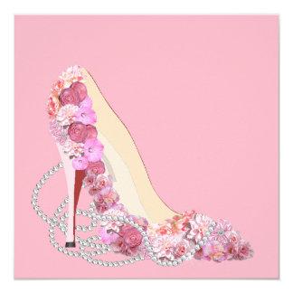 Vem aqui o convite de festas floral dos saltos da