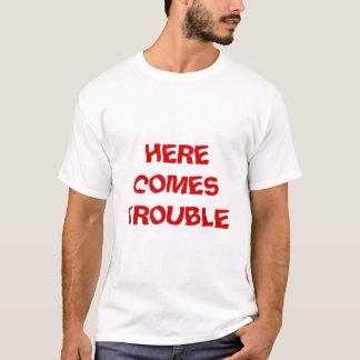 Vem aqui o problema camiseta