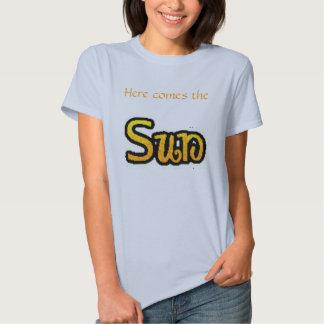 """Vem aqui o T """"azul """" de Sun T-shirt"""