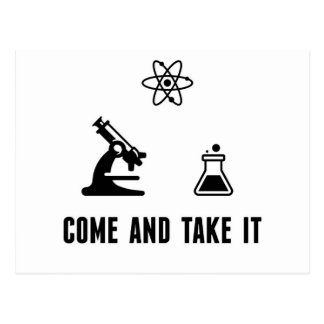 Vem tomar-lhe o cartão da ciência