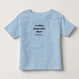 Vencedor da competição do desenho camiseta infantil