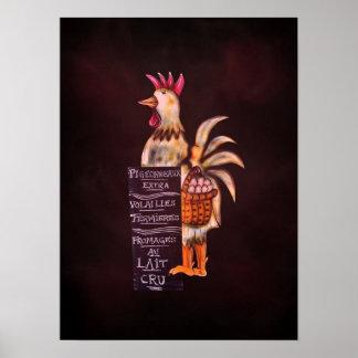 Vencedor de hoje do prêmio do sinal da galinha o m pôsteres