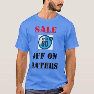 Venda 80% fora na camisa dos aborrecedores