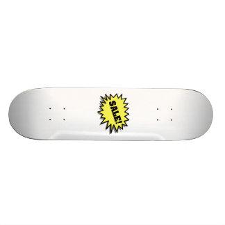 Venda amarela skates personalizados