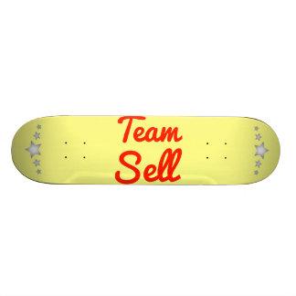 Venda da equipe skates