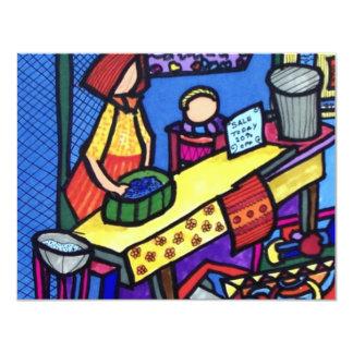 Venda da igreja por Piliero Convite 10.79 X 13.97cm
