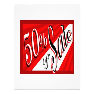 Venda de 50% panfleto personalizados