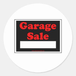 Venda de garagem adesivo