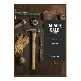 Venda de garagem convite 12.7 x 17.78cm