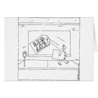 venda de Tag grande Cartão Comemorativo