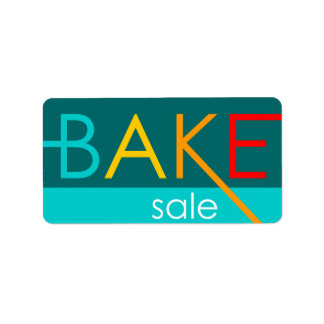 venda do assar (tipográfica) etiqueta de endereço
