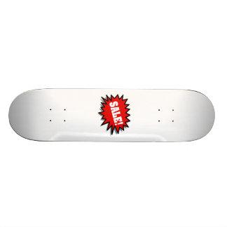 Venda vermelha skate boards
