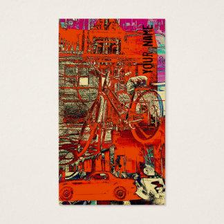 Vendas da bicicleta - modelo de cartão de negócios