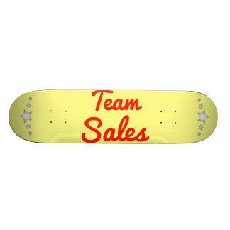 Vendas da equipe skates personalizados