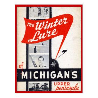 Vendas do vintage, Michigans, península superior Cartão Postal