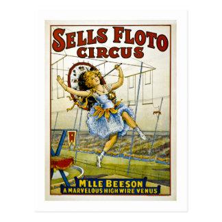 Vendas Floto 1921 - M'lle Beeson Cartão Postal
