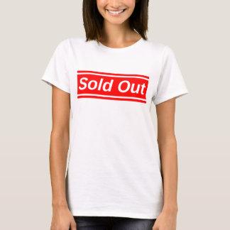 Vendido para fora camiseta